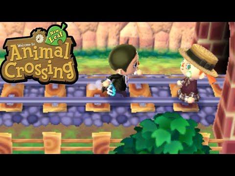 Animal Crossing: New Leaf - Train Tracks Murder Mystery Twin Beaks Gameplay Walkthrough Ep.84 3DS