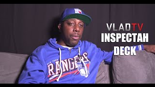 "Inspectah Deck: Using the ""Triumph"" Verse Twice Helped My Legacy"