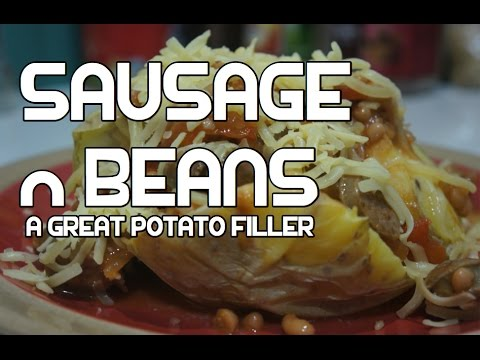 Simple Sausage & Baked Beans Recipe - Great Baked Potato Filler