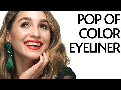Get Ready With Me: Pop of Color Liner Tutorial   Sephora