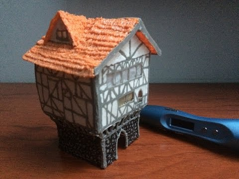 3D PEN Creations   Making Medieval Buildings   Game Of Thrones   How to make a house   Tutorial