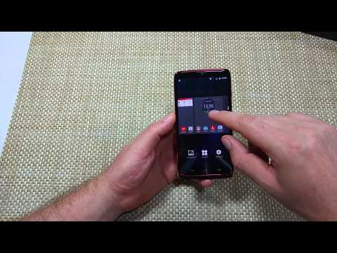Motorola Droid Turbo How to change your Home Screen selection Maxx