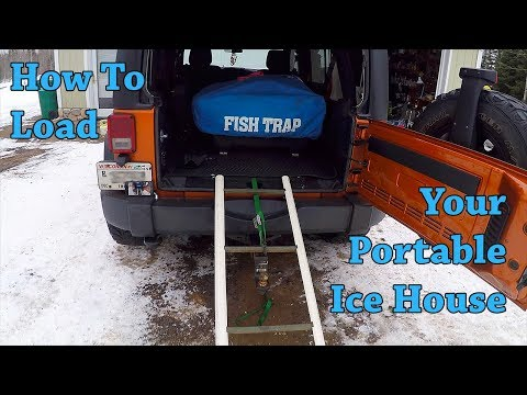 How To Easily Load Your Portable Ice House