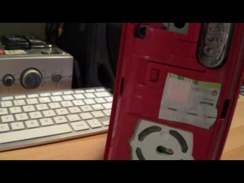 XBOX 360 RED EDITION BYE WARRANTY STICKER