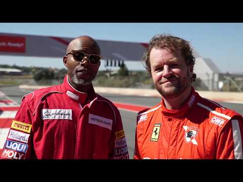 Vodacom Red Track Day with Thapelo Mokoena