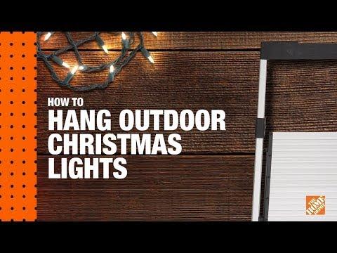 How to Hang Christmas Lights: Christmas Light Installation