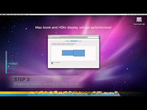 Mini DisplayPort to Hdmi for Mac (enabling Sound & Display settings)
