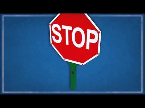 Michael Curtiss | Illuminated Hand-Held Road Sign