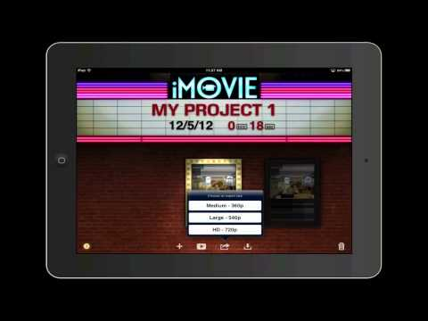 iPad Basics: Trimming and Merging Movies in iMovie