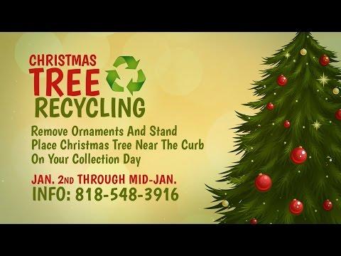 Christmas Tree Recycling Program