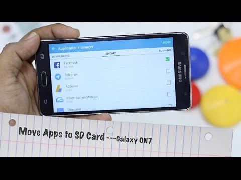 Samsung Galaxy On7 : How to Move Apps to SD Card