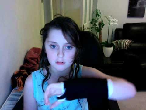 i broke my hand and wrist :(