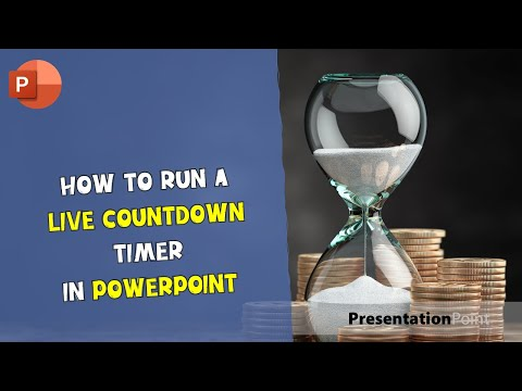 How to run a live countdown timer in PowerPoint