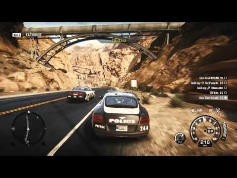 NFS Rivals Bentley Continental GT Gameplay