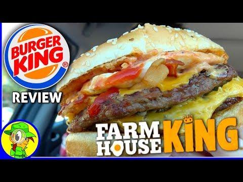 Burger King®   Farmhouse King™ Review! 🍔👑🍳