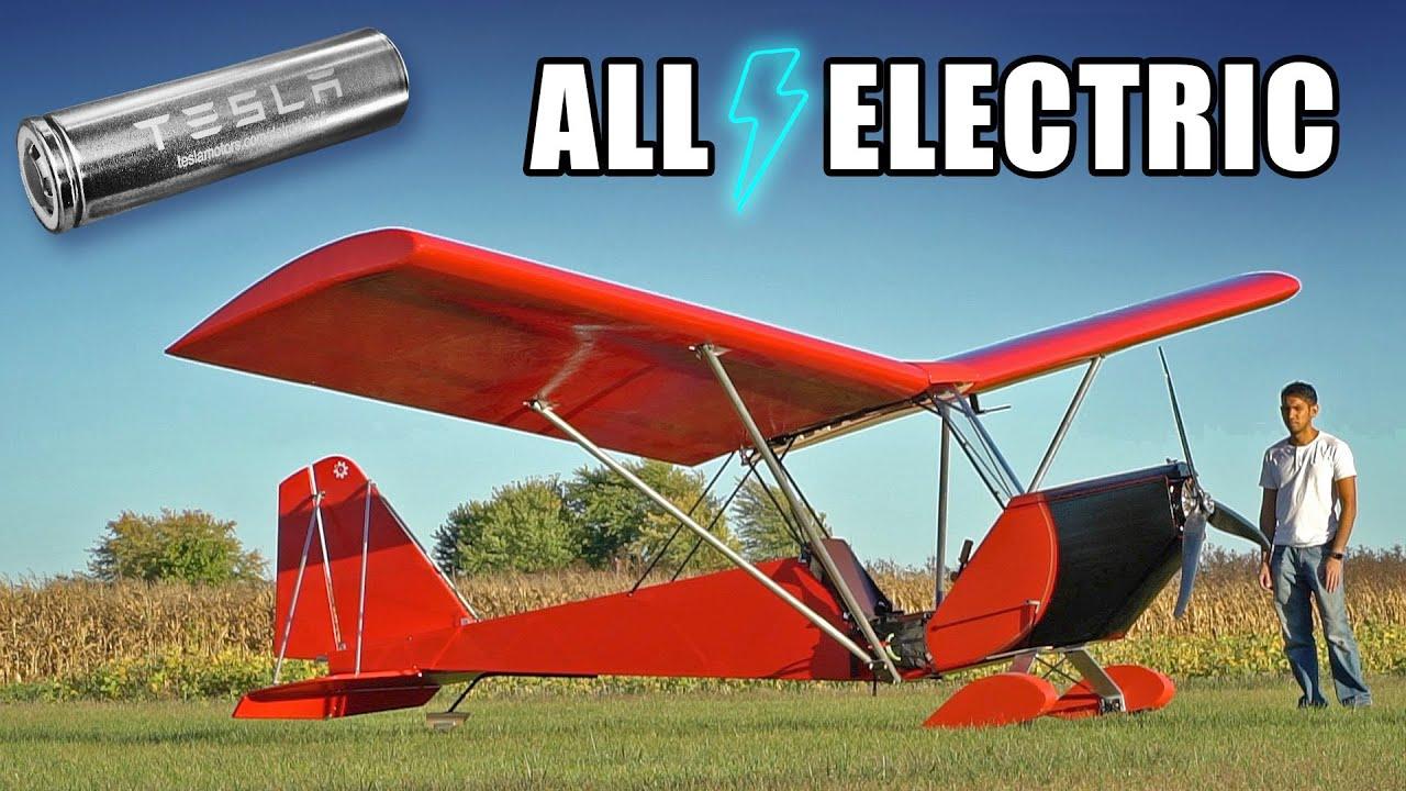 Homemade Electric Airplane MK4