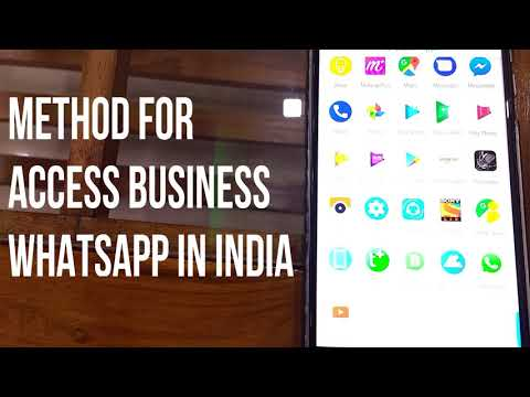 All about WhatsApp Business App || Access in india || using fake USA number || Features