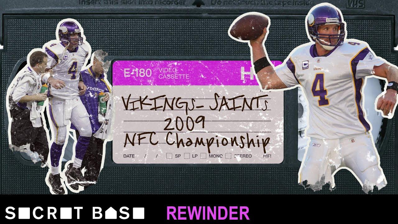 Brett Favre's final shot at glory deserves a deep rewind   Saints Vikings 2009 NFC Championship