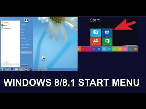 How To Bring Back/enable Start Menu In Windows 8/ Windows 8.1 Hindi Urdu