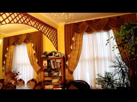 How to arrange Curtains Swags and Tails part 2