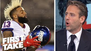 Giants owner John Mara wrong to criticize Odell Beckham Jr. - Max Kellerman | First Take