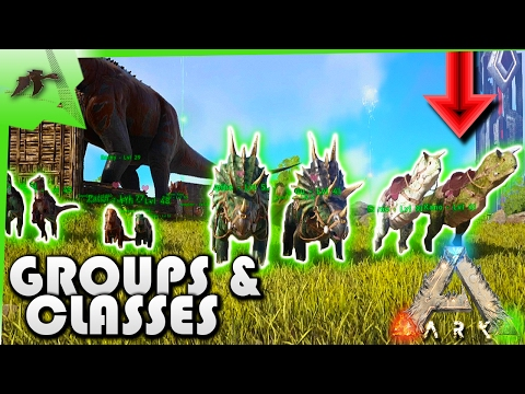 How To Use New Whistling Command/Groups/Classes/Infinite Stamina- Ark Survival Evolved Xbox One