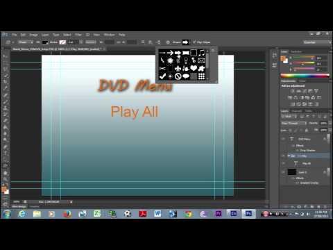 How to create a simple dvd menu in adobe encore cs6