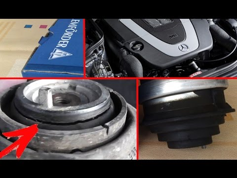Vibration when the engine is cold in the position D, R. Problem solved / Replacing engine cushions