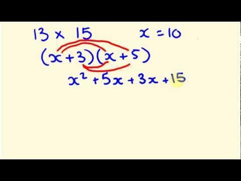 Algebra - expanding brackets - binomials