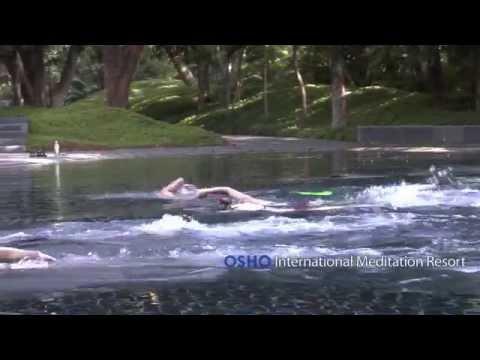 OSHO International Meditation Resort Impressions: Meditative Swimming