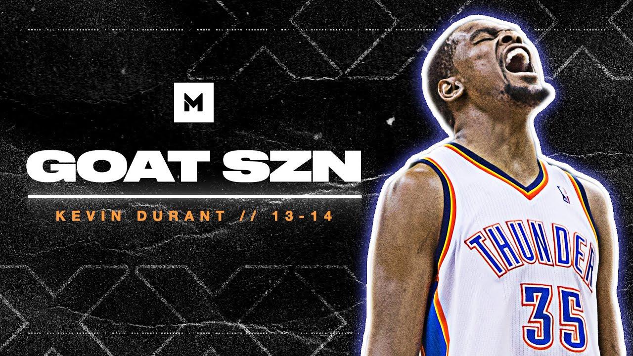 Kevin Durant's HISTORIC MVP Season In 13-14! 32ppg   GOAT SZN