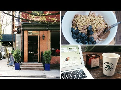 What I Eat (Vegan) - Working in Cafes in New York