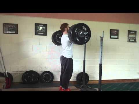 Eoin Murphy 142.5kg Paused Front squat