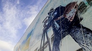 The Data Center Mural Project: Monotype to Mural
