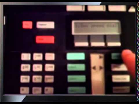 setting time on Norstar phone system - older software