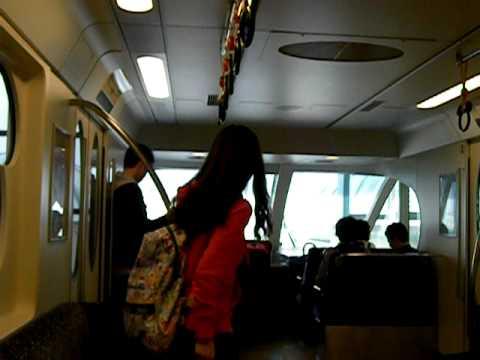 Maihama monorail to Tokyo Disney Sea 1/2