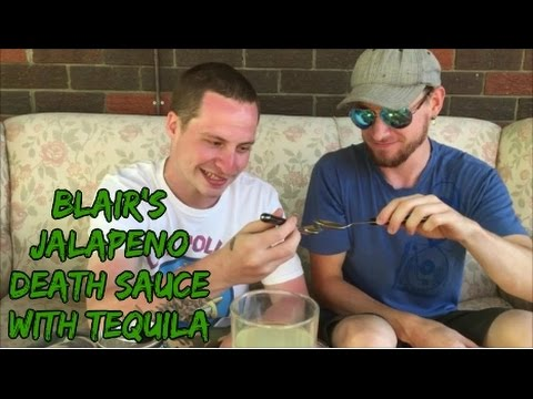 THE 'BLAIR'S JALAPENO DEATH SAUCE (WITH TEQUILA)' REVIEW!