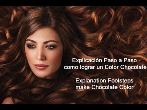 Como Lograr un Chocolate - How to make a Chocolate Color