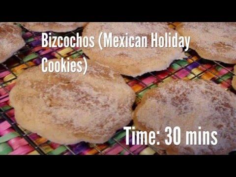 Bizcochos (Mexican Holiday Cookies) Recipe