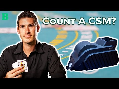 Can you Count Cards at a Continuous Shuffle Machine?