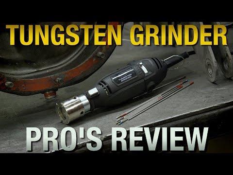 Tungsten Grinder Review - Pro Fabricator & TIG Welder- Perfect Way to Grind Tungsten - Eastwood