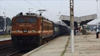 Superfast Ajmer Dadar Express Skips Vishwamitri With BRC WAP-4 : Indian Railways