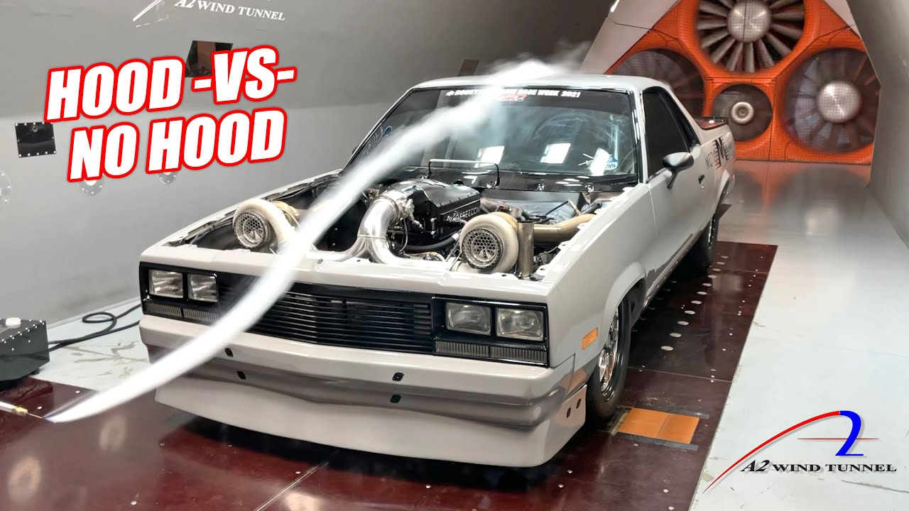 Took My 2,000hp El Camino to the Wind Tunnel To Prove My Redneck Theories Right or Wrong!!!