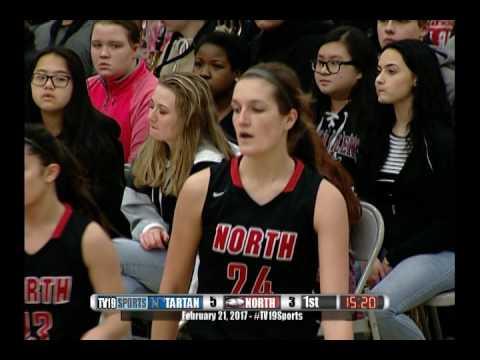 Girls Basketball - North vs Tartan - 2/21/17