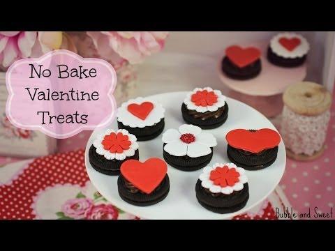 Valentine Oreo treats