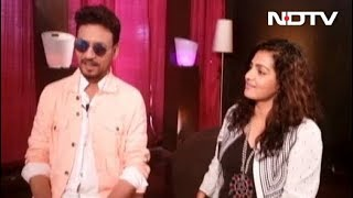 Irrfan Blushes When Asked About Wife, Also Qarib Qarib Singlle Producer