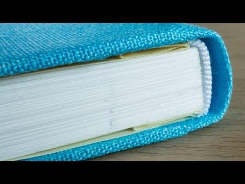 Bookbinding DIY: making a notebook from scratch