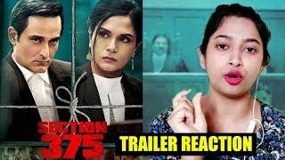 Section 375 Trailer को लेकर प्रतिक्रिया | Akshaye Khanna, Richa Chadha, Ajay Bahl