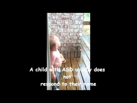 What Autism looks like (ASD)