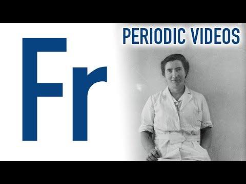 Francium (new video) - Periodic Table of Videos